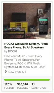ROCKI Kickstarter