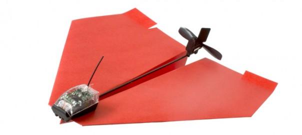 Papieren vliegtuigje 3.0