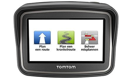 Routes maken voor Tomtom Rider op een Mac