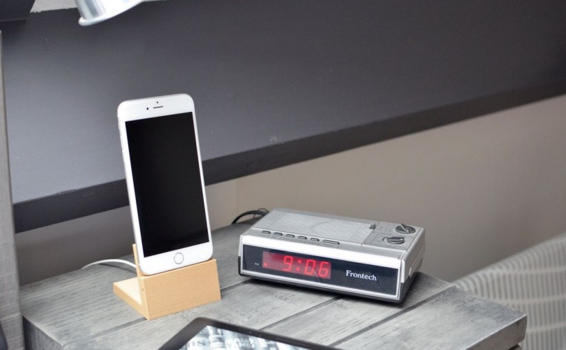 Elegant iPhone 6 Plus dock for 3D Printing