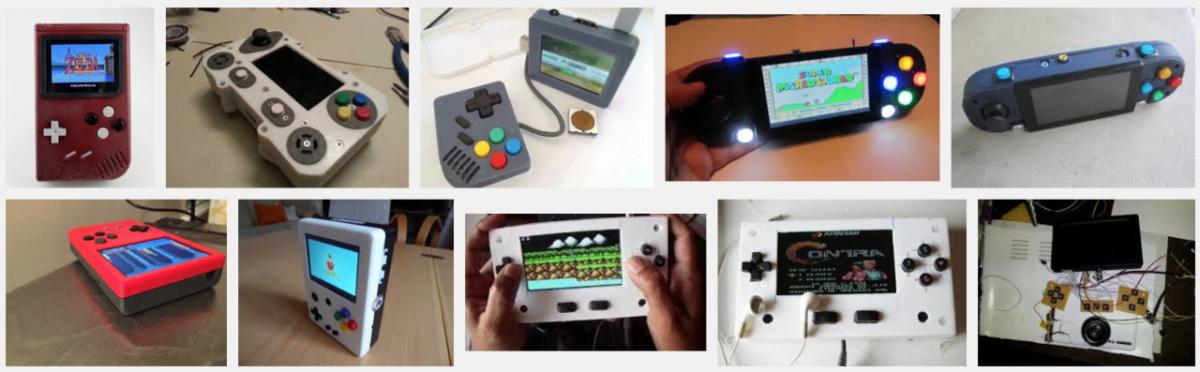 Retropie handheld examples